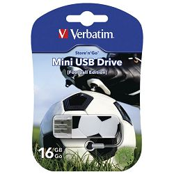 Memorija USB 16GB StorenGo mini Football Verbatim 49879 blister