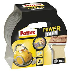 Traka ljepljiva 50mm10m Power Tape Henkel srebrna blister