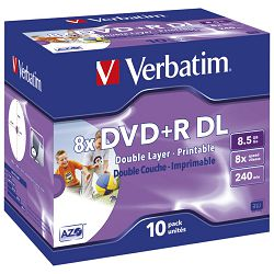 DVDR DL 85240 8x JC printable Verbatim 43665