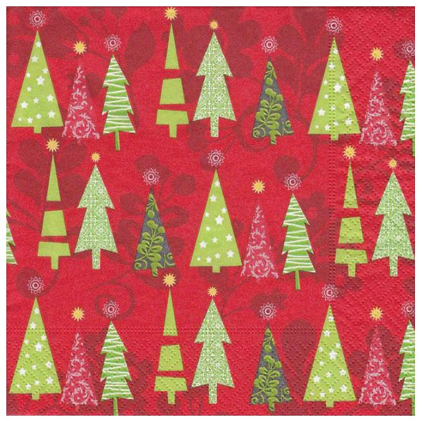 Salvete troslojne 33x33cm pk20 Simple Tree Herlitz 40043678