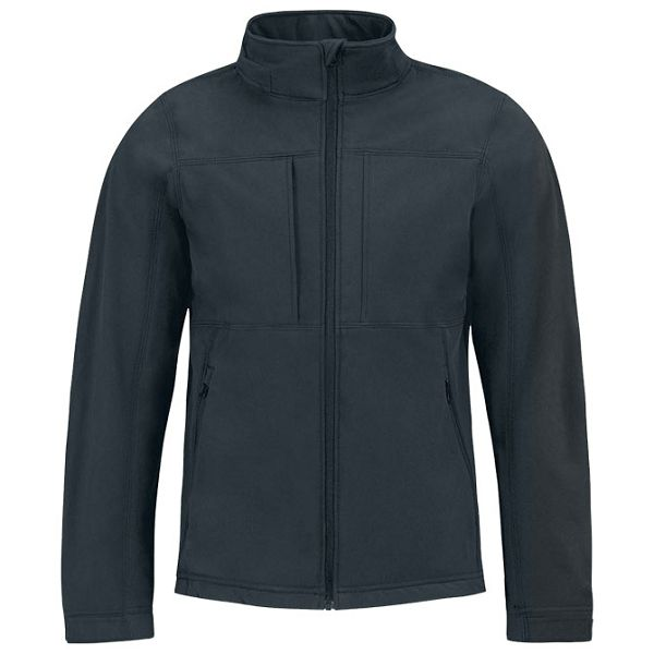 Jakna zip muška BC Hooded Softshell tamno plava 3XL